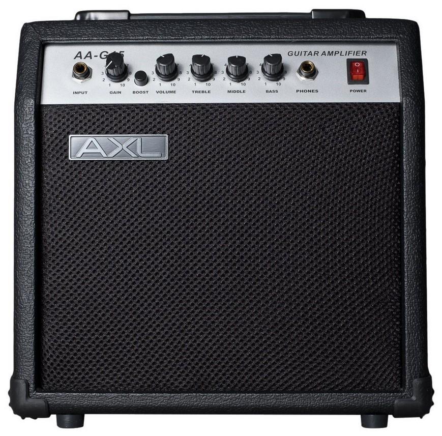 Новинка для ценителей хорошего гитарного звука. Комбоусилители AXL