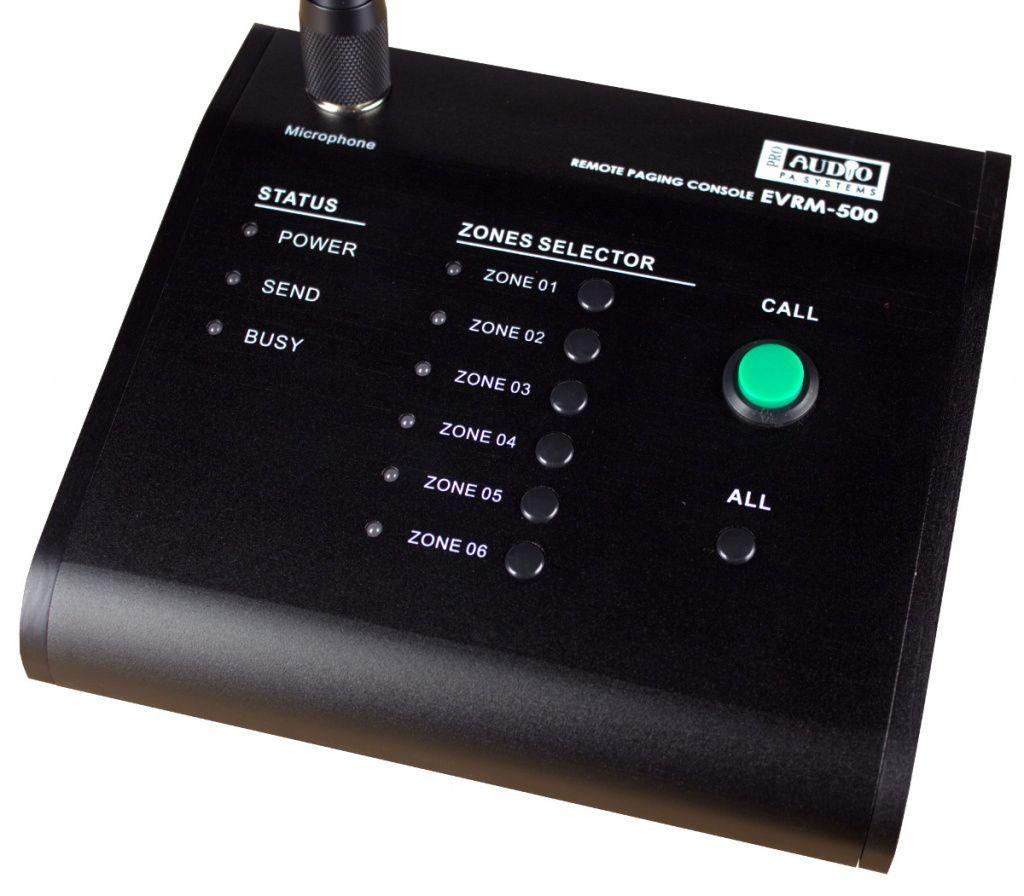 Трансляционные микшер-усилители PROAUDIO серии EVS