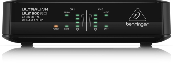 Behringer ULTRALINK ULM302MIC — цифровая микрофонная радиосистема 2.4 ГГц с двумя микрофонами